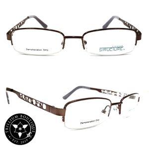 Structure Eyewear 78 Women's Brown Glasses Frames